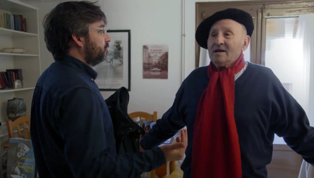 Jordi Évole se encuentra con Lucio Urtubia
