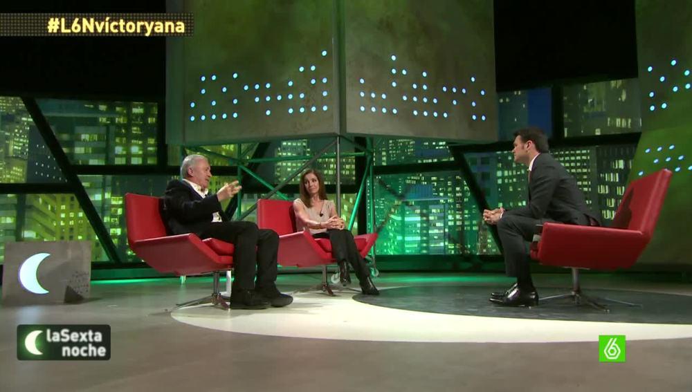 """Víctor Manuel y Ana Belén: """"Es sorprendente que los partidos no se dieran cuenta de la llegada de Podemos"""""""