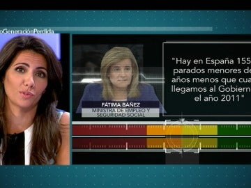 ¿Hay en España 155.000 parados menores de 30 años menos que en 2011?