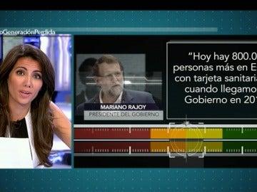 ¿Hay 800.000 personas más en España con tarjeta sanitaria que en 2011?