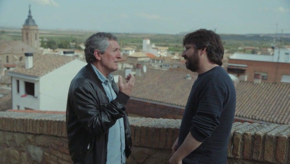 José Mari Esparza y Jordi Évole en 'Salvados'