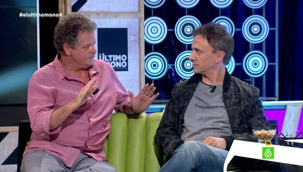 Juan Luis Cano y José Mota en 'El Último Mono'