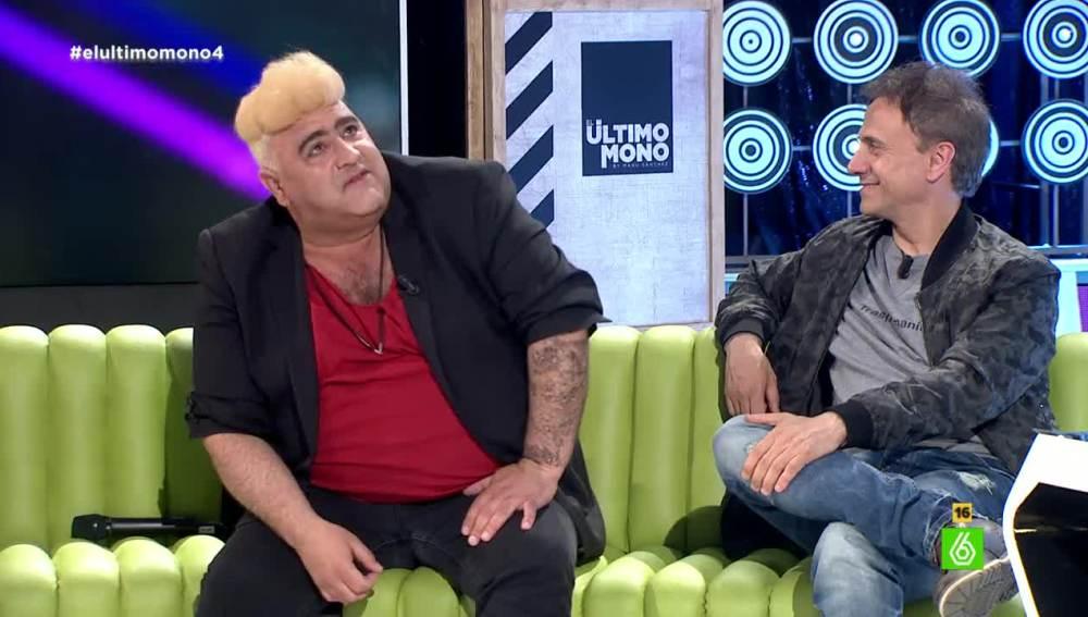 Justin Viver del Carajo y José Mota en 'El Último Mono'