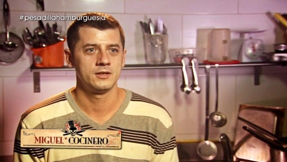Miguel, el cocinero se defiende ante Chicote