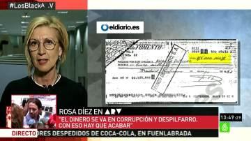 Rosa Díez habla sobre la financiación del Pp