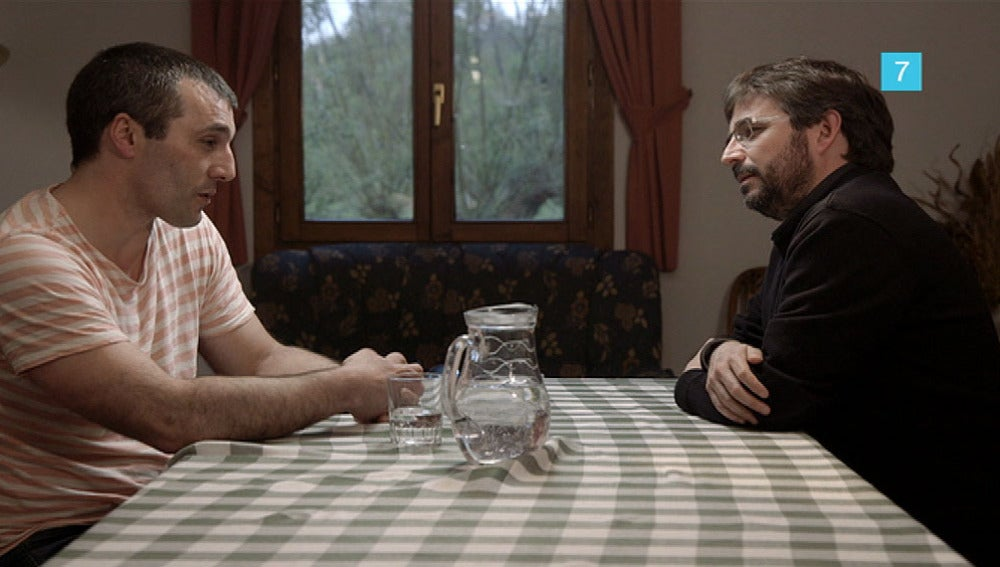 Iñaki Rekarte con Jordi Évole