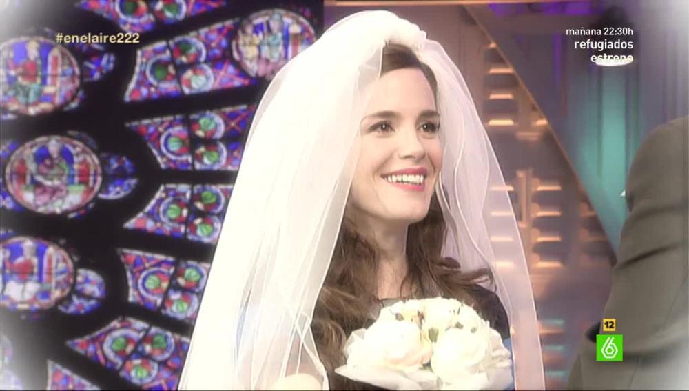 Núria Gago se casa en En el aire