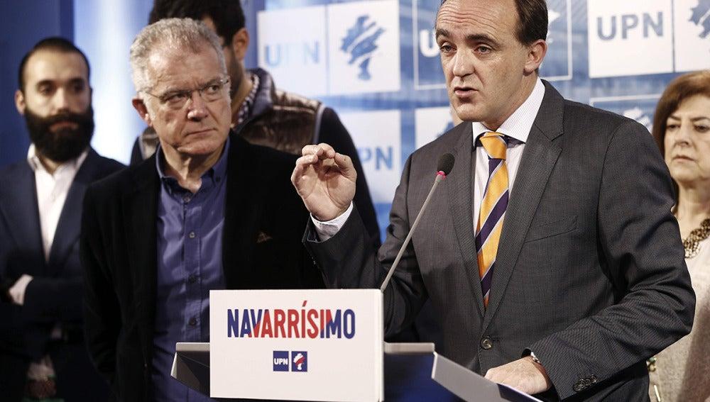Javier Esparza, el candidato de UPN