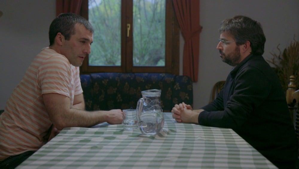 Iñaki Rekarte y Jordi Évole en 'Salvados'