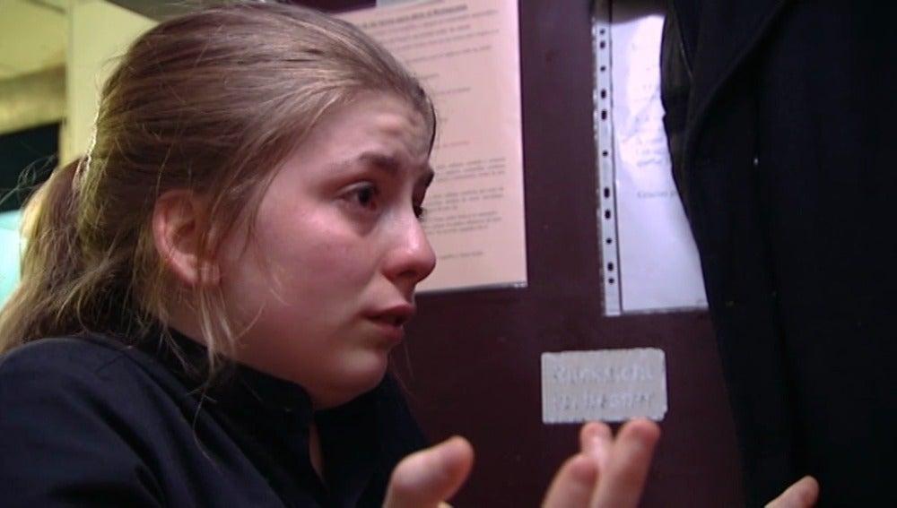 Una empleada de Mesón Galicia