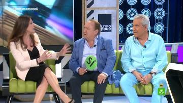Valérie Tasso, Fernando Esteso y Andrés Pajares en 'El Último Mono'