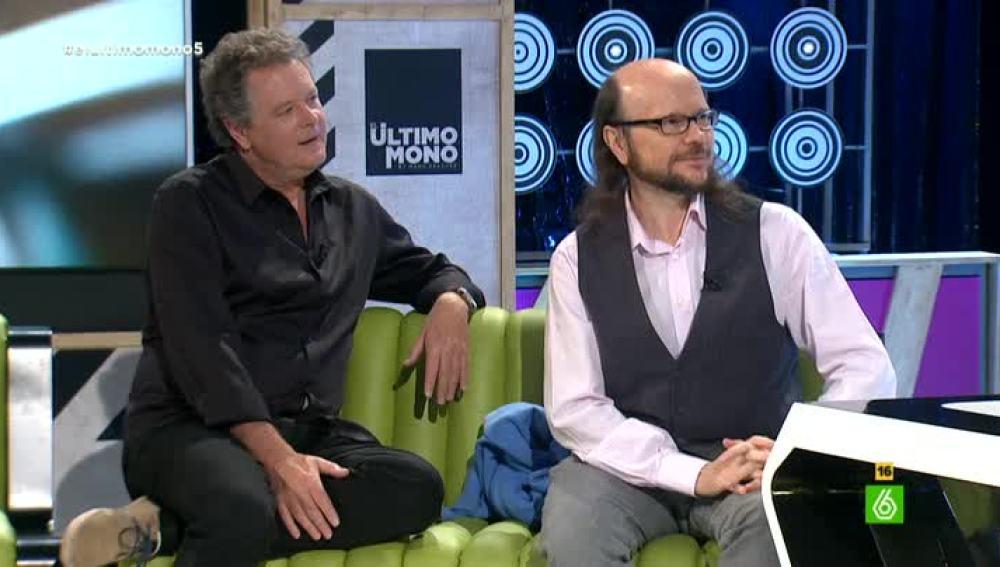 Juan Luis Cano y Santiago Segura en 'El Último Mono'