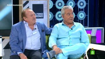 Fernando Esteso y Andrés Pajares en 'El Último Mono'
