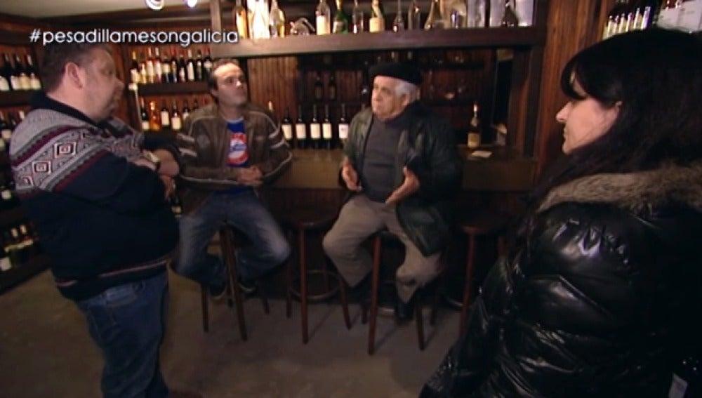Antonio cree que el problema del 'Mesón Galicia' es David