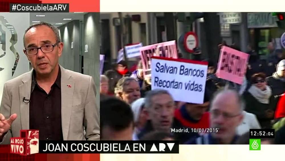 Joan Coscubiela en ARV