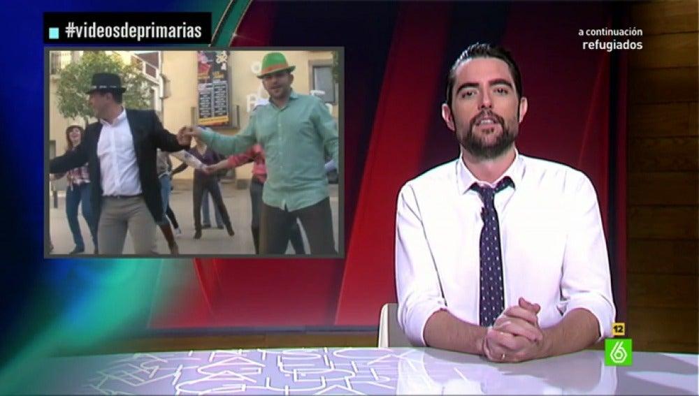 Dani Mateo, en 'Vídeos de primarias'