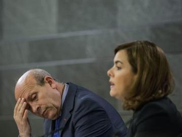 José Ignacio Wert y Santamaría en rueda de prensa