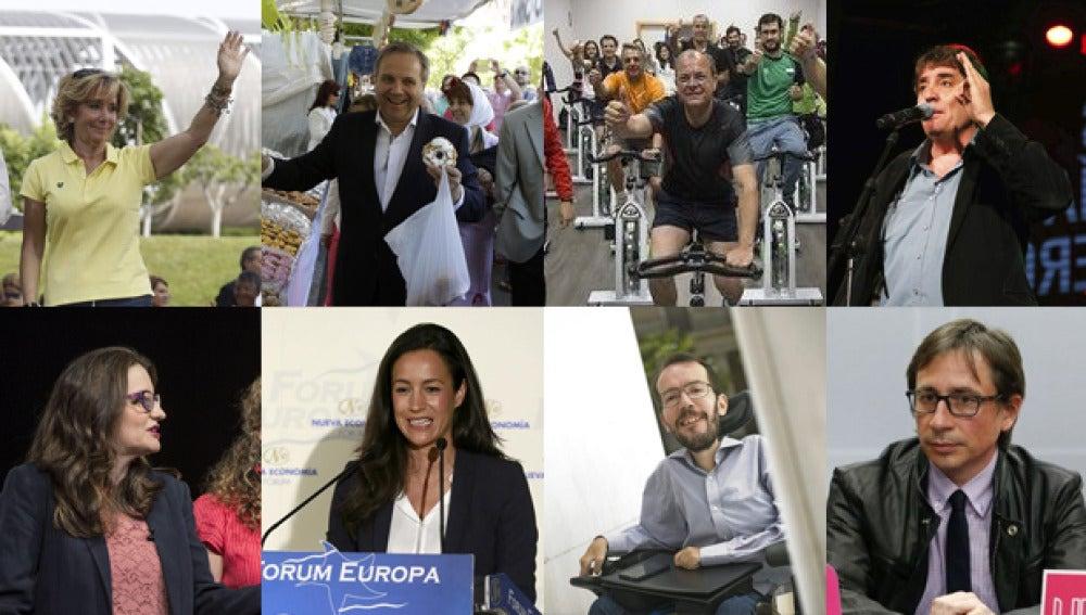 Candidatos a las municipales y autonómicas