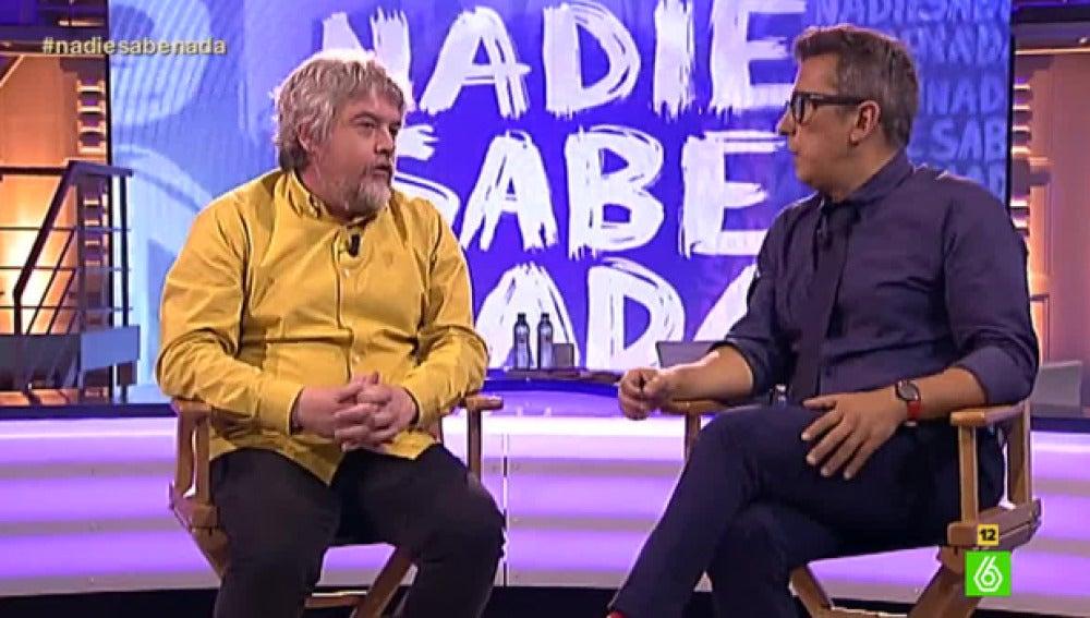 Javier Coronas y Andreu Buenafuente, en 'Nadie sabe nada'