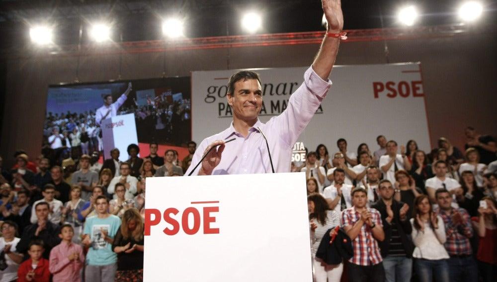 """Sánchez: """"Votar al PSOE es decir no a la resignación y sí al empleo estable"""""""
