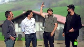 Andoni, Iker, Iñaki López y Manu Sánchez, en 'El Último Mono'