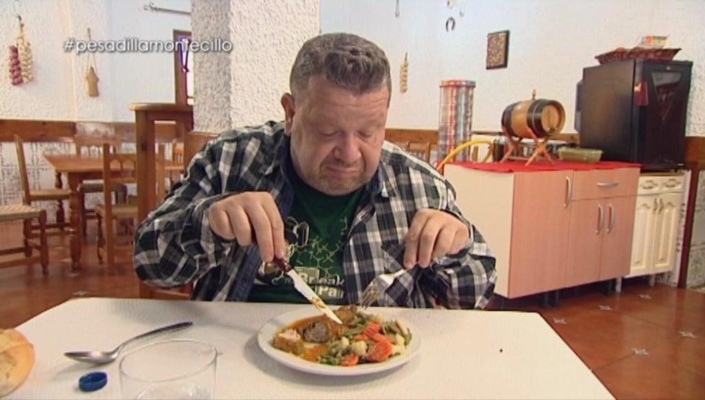Alberto Chicote critica la verdura congelada