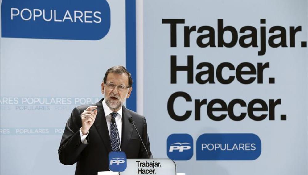 """Mariano Rajoy: """"¿Quién habla hoy en España de recesión y de paro?"""""""
