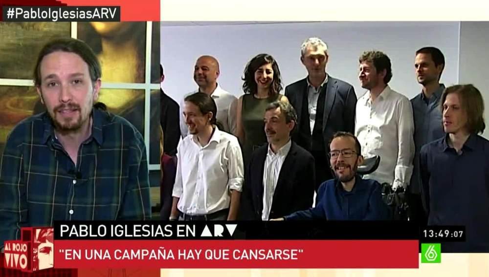 Pablo Iglesias habla sobre Barberá