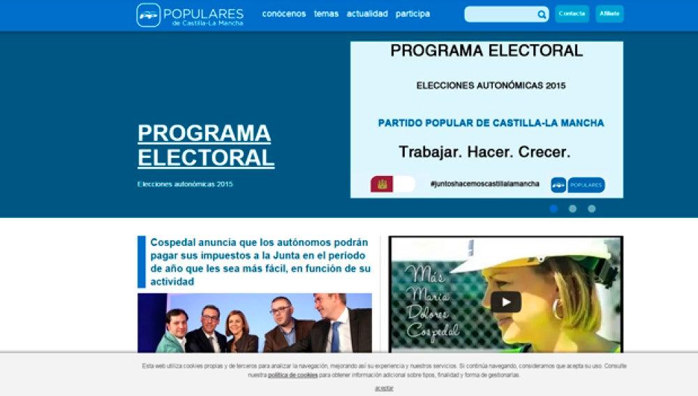 Programa electoral del PP en Castilla-La Mancha