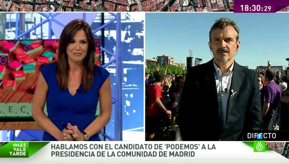 José Manuel López habla en MVT