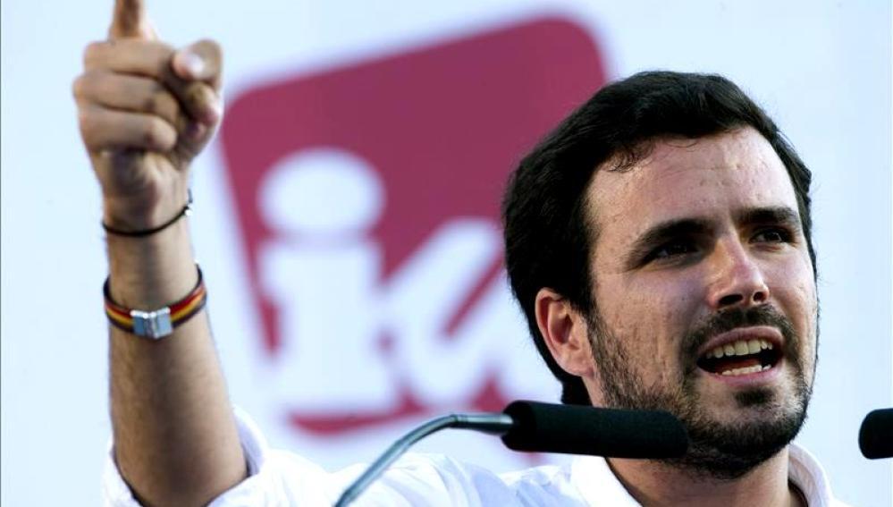 """Alberto Garzón: """"cada concejal de IU es una garantía"""""""
