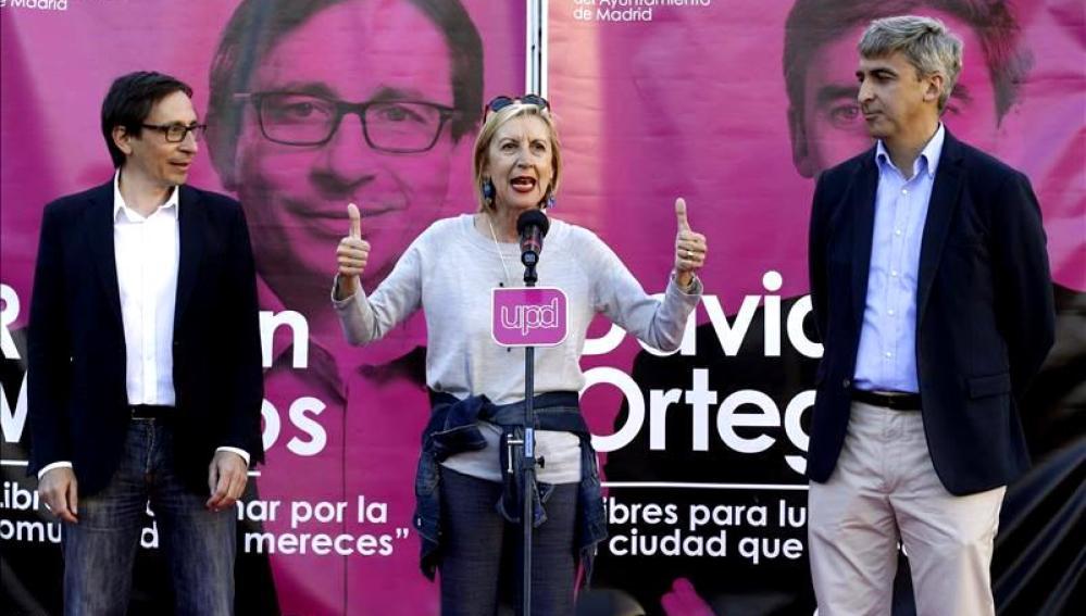 """Rosa Díez: """"No hay que rendirse nunca en la lucha regeneración diplomática"""""""