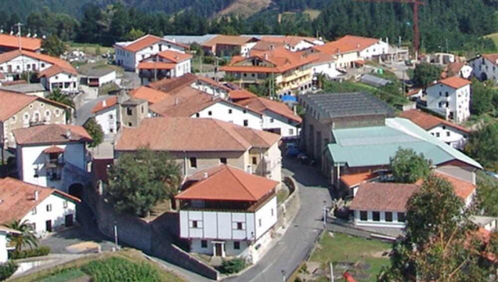 Vista de la localidad de Amoroto, en la provincia de Vizcaya