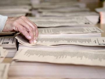 Fallo electrónico en las votaciones del Burgos