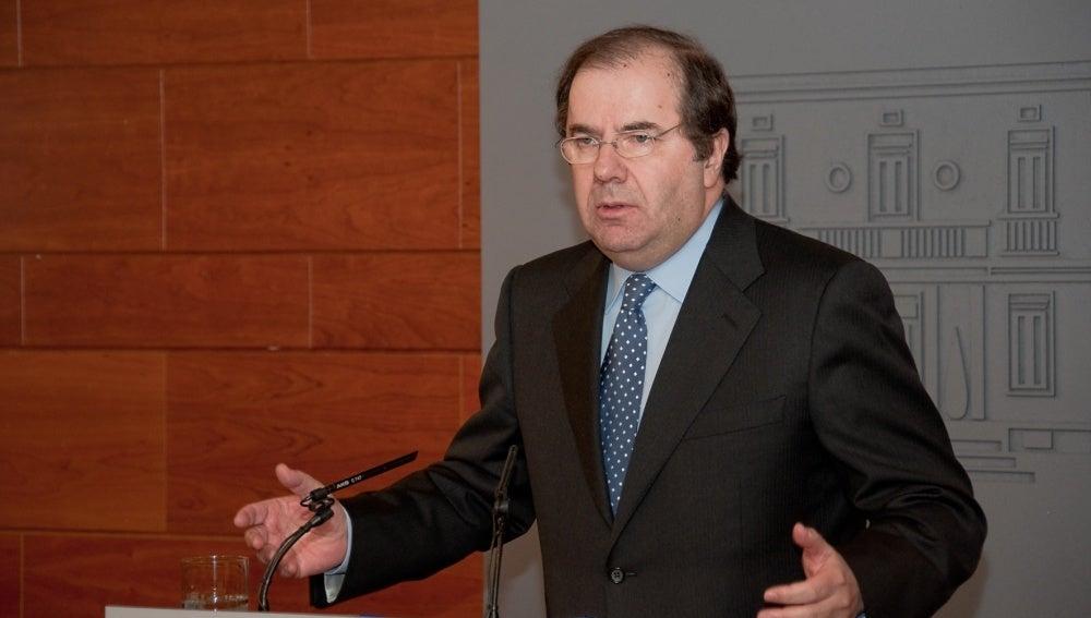 Juan Vicente Herrera, presidente de la junta de Castilla y León
