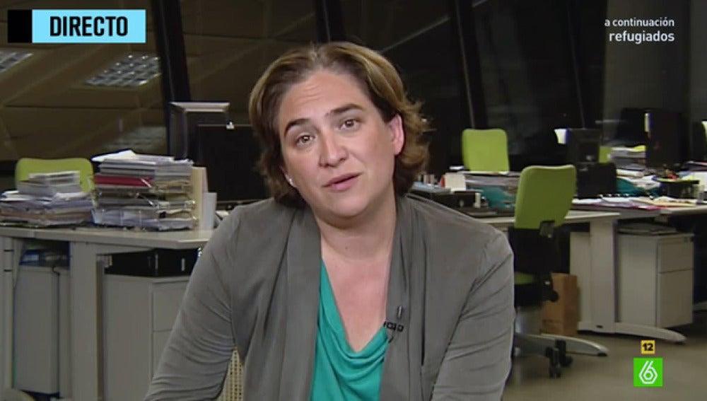 Ada Colau en 'El Intermedio'
