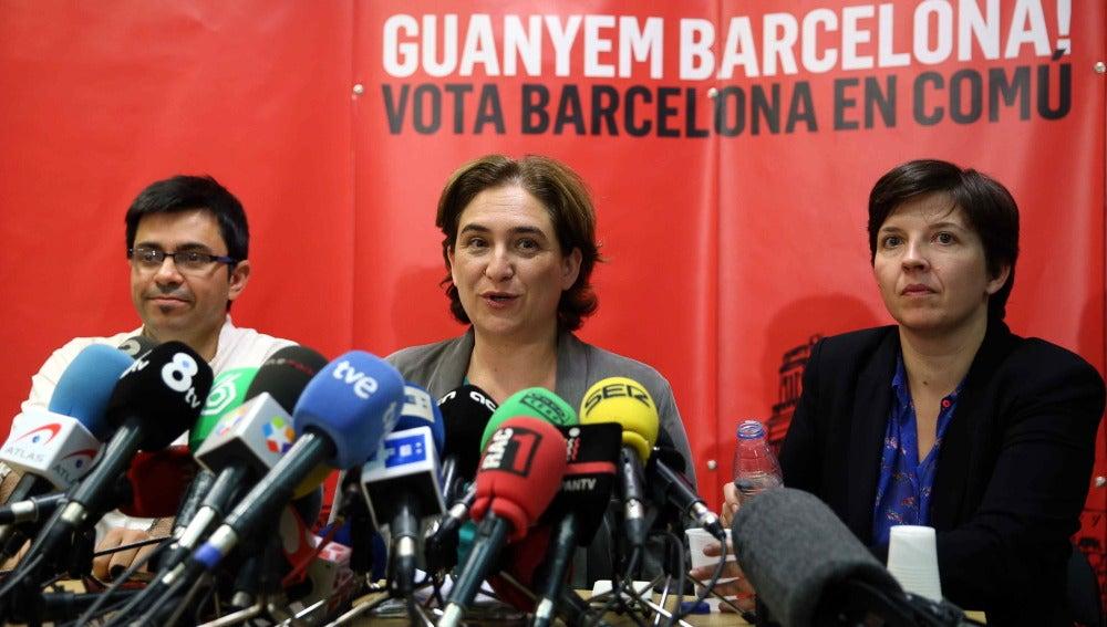 La alcaldable por Barcelona en Comú, Ada Colau