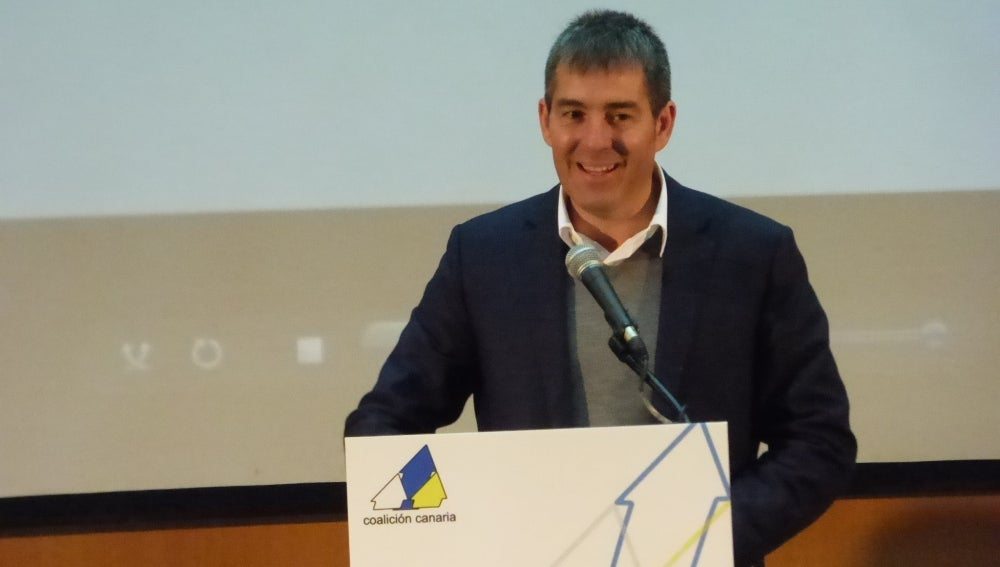 Fernando Clavijo, de Coalición Canaria