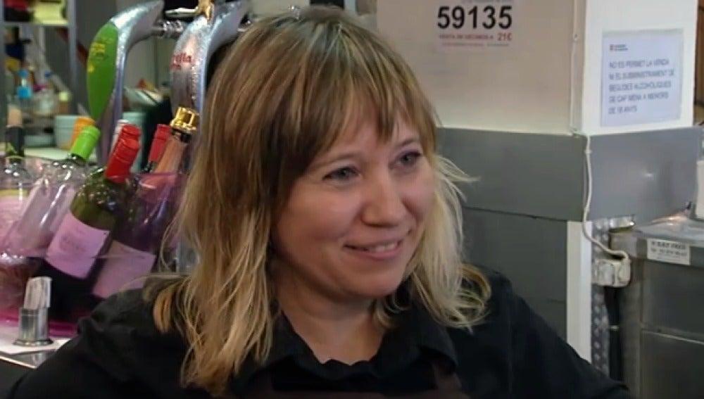 Ana, una de las propietarias del 'Edén'