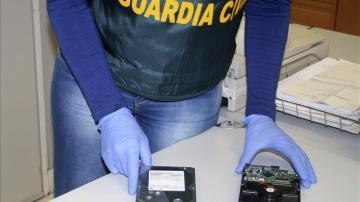 Imagen de archivo de una operación contra la pornografía infantil distribuida a través de Internet