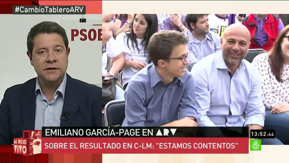"""Emiliano García-Page: """"Cospedal ha prometido que se iba a quedar, pero siendo presidenta ya ha venido poco"""""""