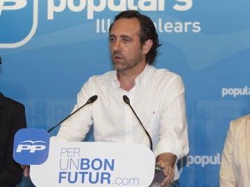 José Ramón Bauzá descarta presentarse como candidato del PP balear