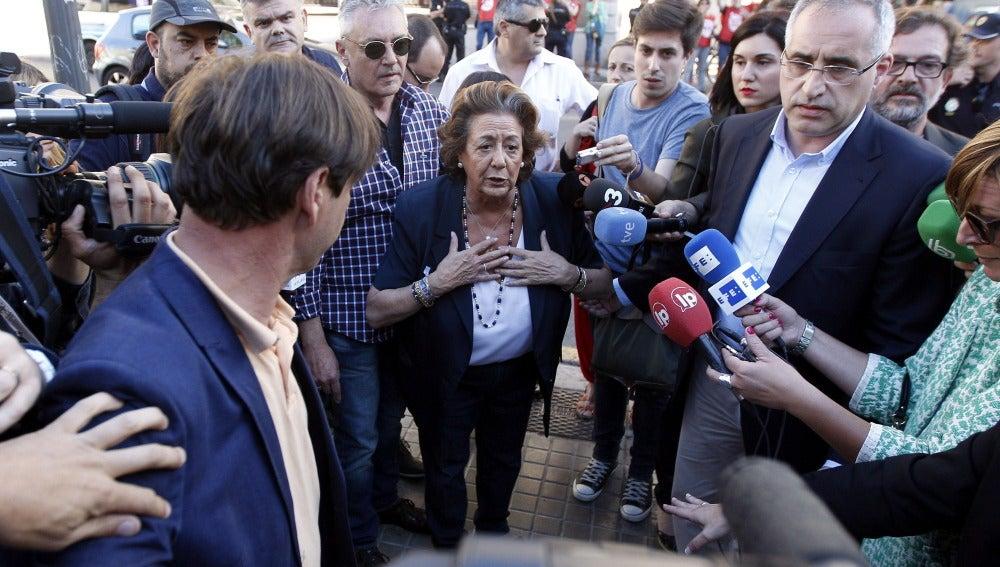 Rita Barberá descarta incorporarse al Senado tras perder la mayoría absoluta