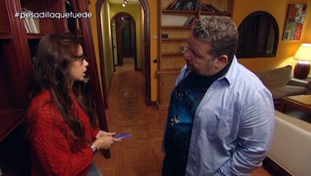 Alba, del 'Domine Cabra', habla con Chicote