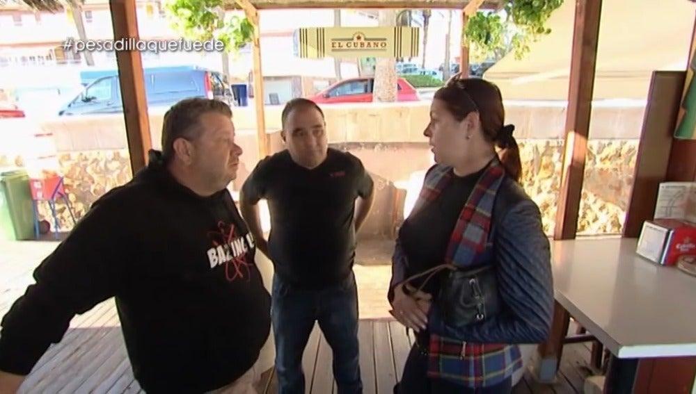 Margot, excocinera de 'El Cubano', habla con Chicote