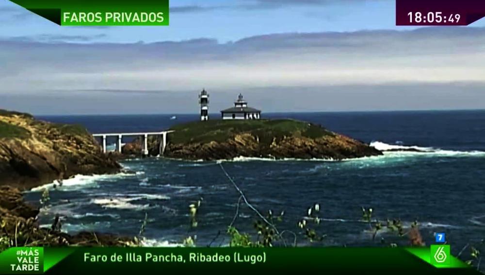 Faro en Ribadeo, Lugo
