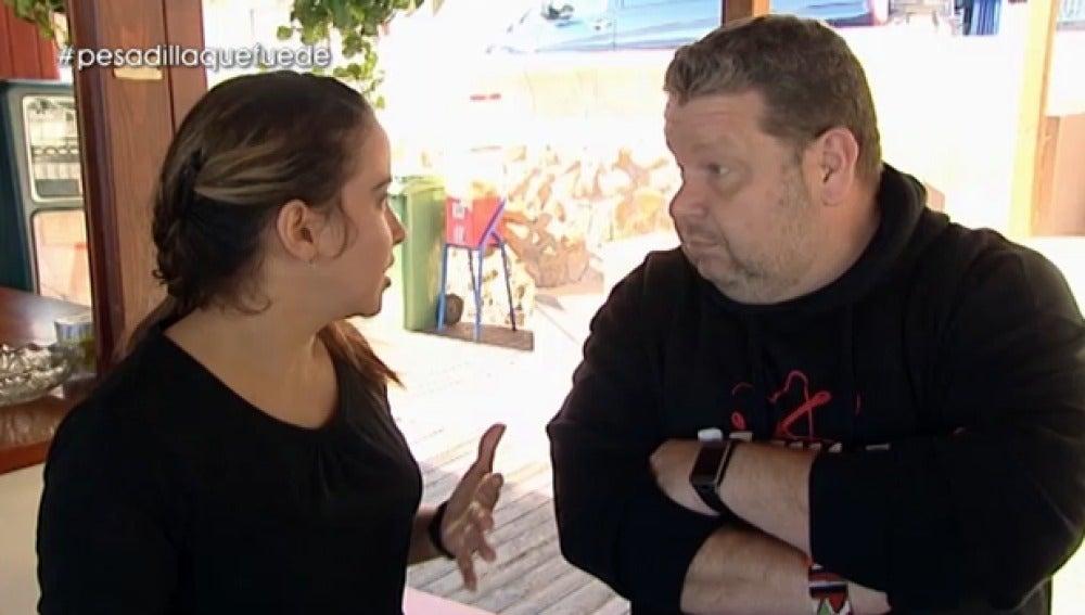 Liz, propietaria de 'El Cubano'