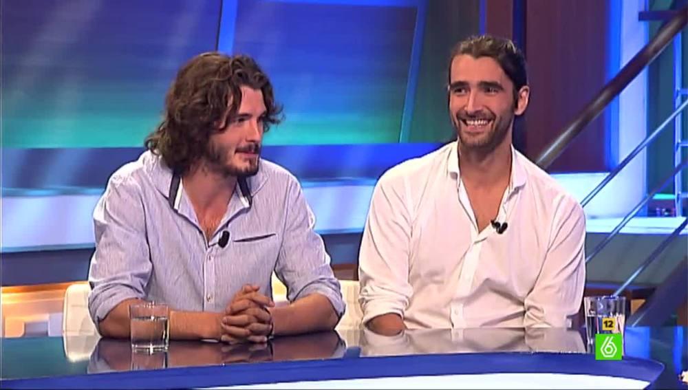 Yon González y Aitor Luna