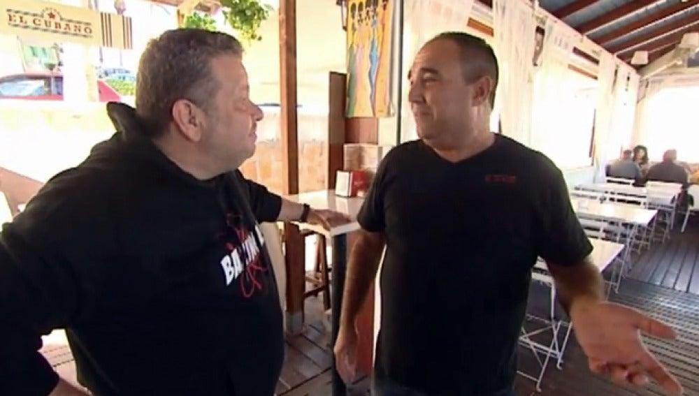 Pancho habla con Alberto Chicote