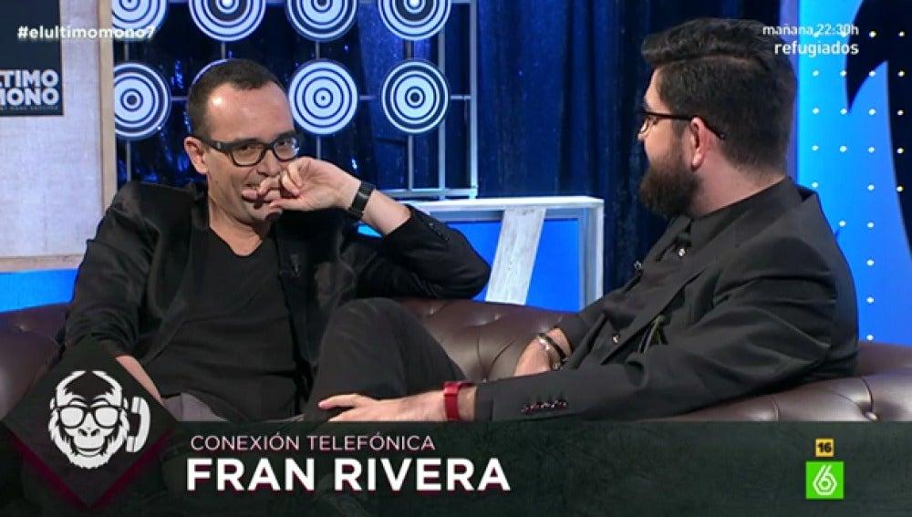 Risto Mejide, junto a Manu Sánchez
